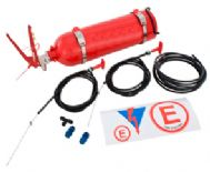 Plummed in Fire Extinguisher Kit